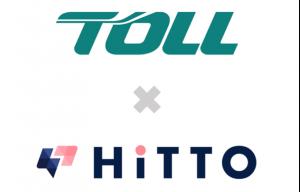 トールエクスプレスジャパンとHiTTOのロゴ