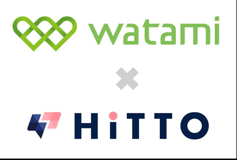 ワタミとHiTTOのロゴ